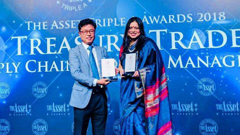 POSCO's subsidiary in INDIA wins the best supply chain solution