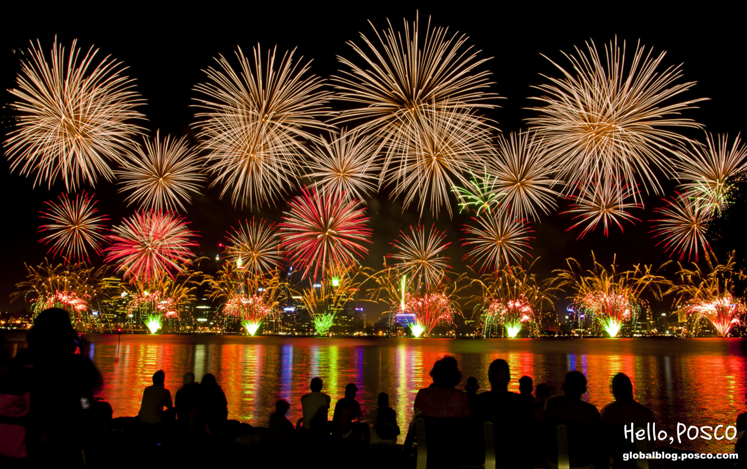 top 5 fireworks displays around the world and one more official