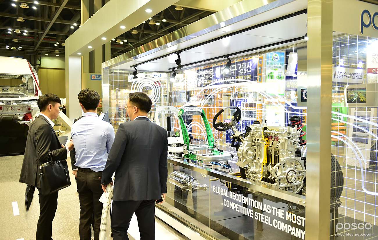 POSCO Stands Out at Steel & Metal Korea 2016