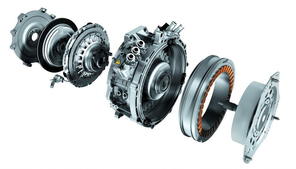 Diagram of ev motors