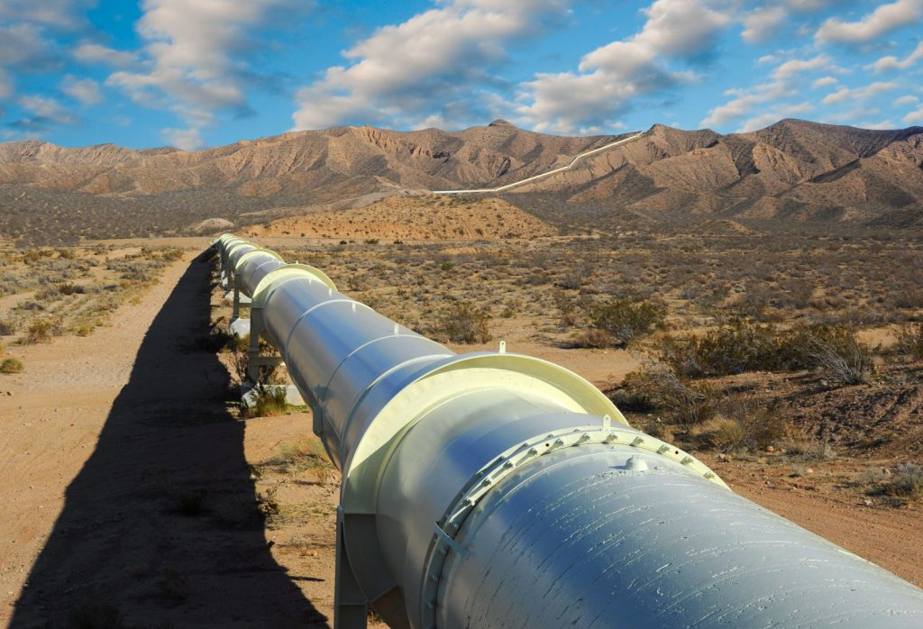 The Keystone XL pipeline was planned to bring heavy oil from Canada to the U.S.