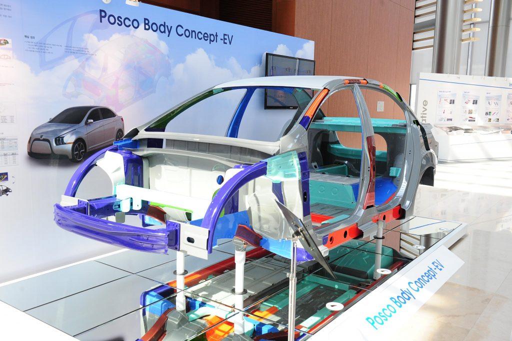 POSCO's body concept EV