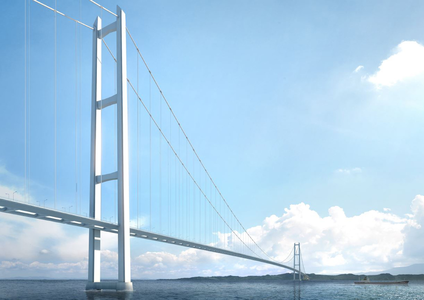 POSCO supply 35000 tons of thick plates for canakkale 1915 bridge