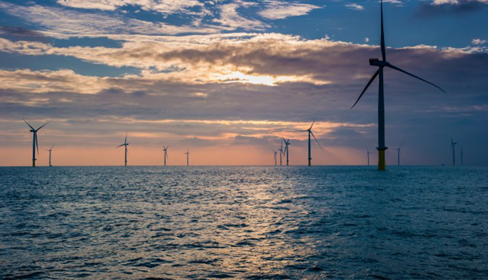 London Array, one of the largest offshore wind farms in Europe
