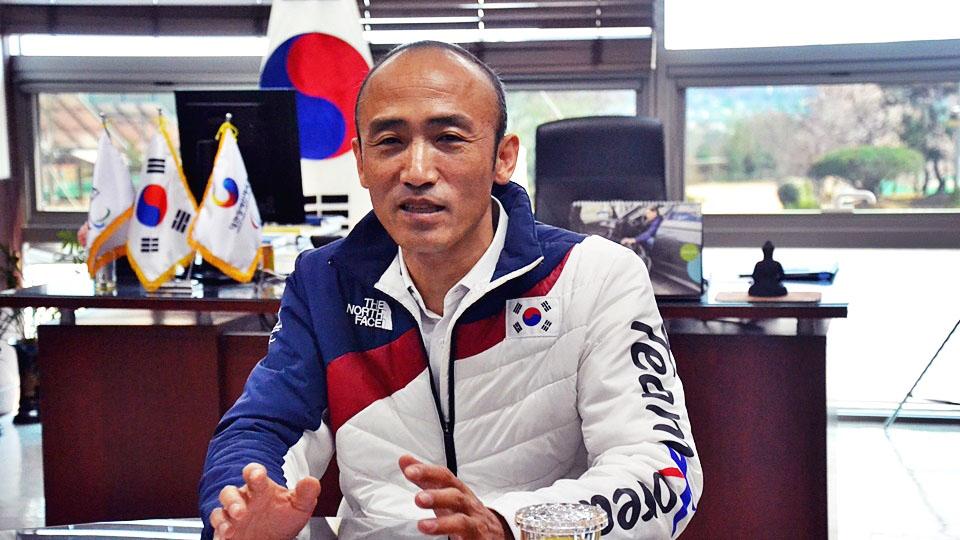 정진완 대한장애인체육회 이천훈련원장.
