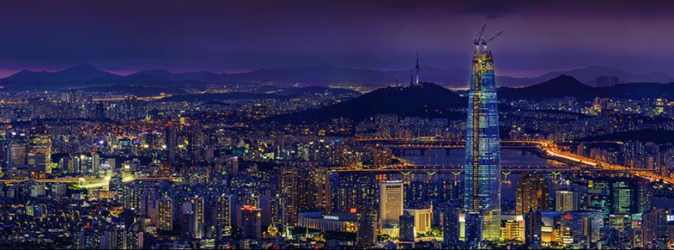 서울 롯데월드타워 전경